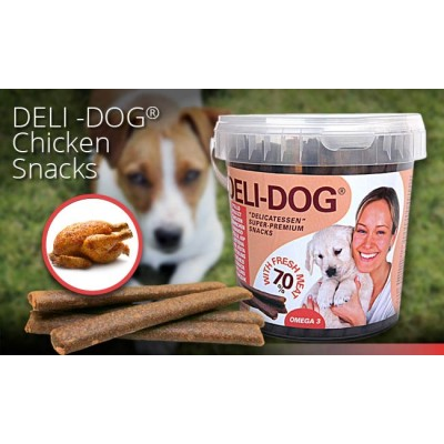 Barritas Deli-Dog de pollastre