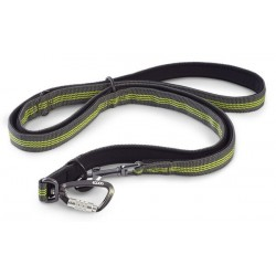 Correa PRO LEASH D.GREY/GREEN