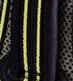Negro con detalle verde